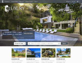 beta.luxuryrealestate.com screenshot