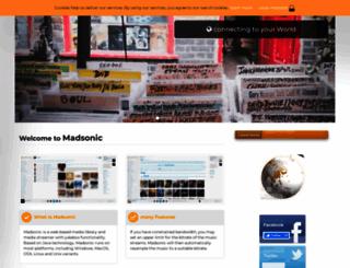 beta.madsonic.org screenshot