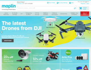 beta.maplin.ie screenshot
