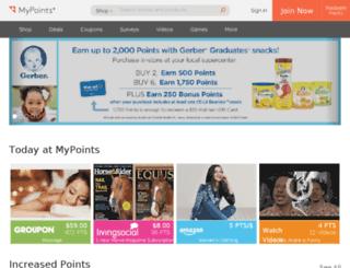 beta.mypoints.com screenshot