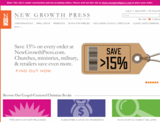 beta.newgrowthpress.com screenshot
