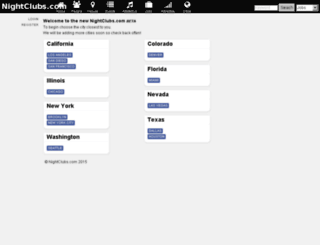 beta.nightclubs.com screenshot