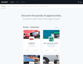 beta.ocast.com screenshot