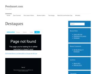 beta.pembanet.com screenshot