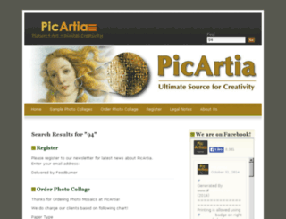 beta.picartia.com screenshot