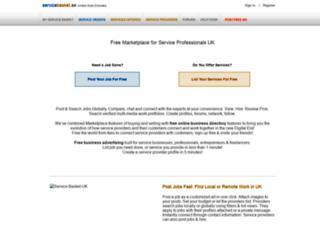 beta.servicebasket.com screenshot