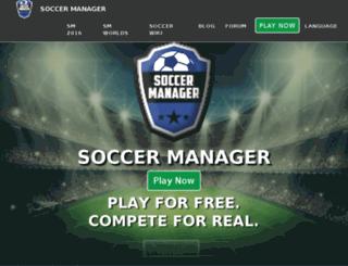 beta.soccermanager.com screenshot