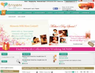 beta.trivenisarees.com screenshot