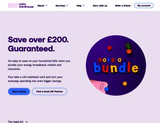 beta.utilitywarehouse.co.uk screenshot