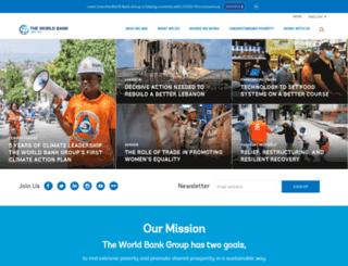 beta.worldbank.org screenshot