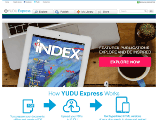 beta.yudu.com screenshot