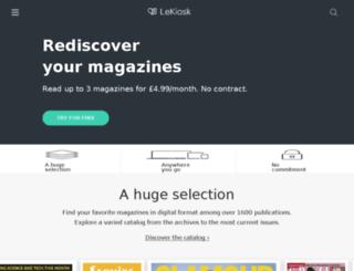 beta2.lekiosk.com screenshot