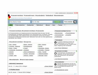 beta2011.gewerbeverzeichnis-deutschland.de screenshot