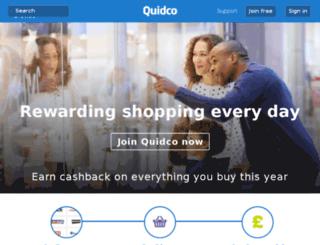 beta3.quidco.com screenshot