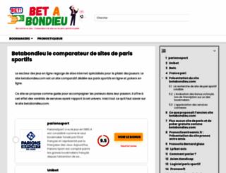 betabondieu.com screenshot