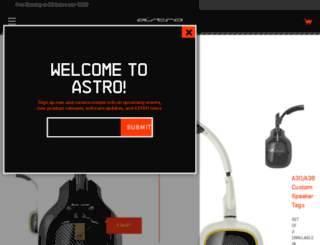betacustomizer.astrogaming.com screenshot