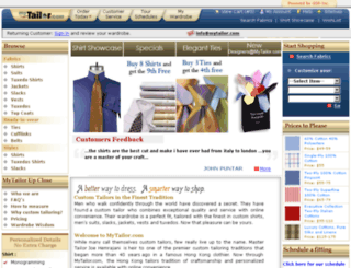 betadn.mytailor.com screenshot
