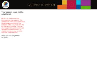 betagateway.wipro.com screenshot