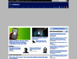 betanews.com screenshot