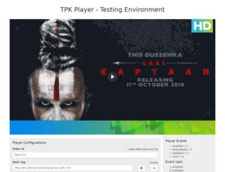 betaplayer.tune.pk screenshot