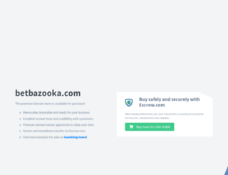 betbazooka.com screenshot