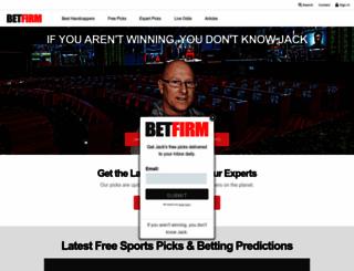 betfirms.com screenshot
