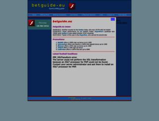 betguide.eu screenshot