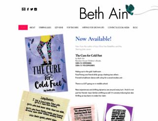 bethain.com screenshot