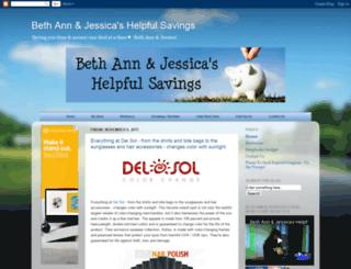 bethannshelpfulsavings.com screenshot