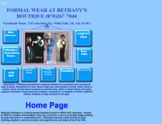 bethanysboutique.virtualave.net screenshot
