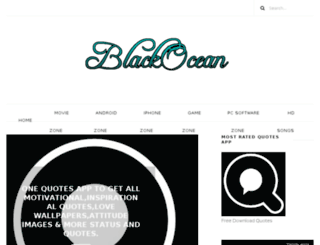 betheblackocean.blogspot.in screenshot