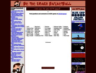 bethecoachbasketball.com screenshot