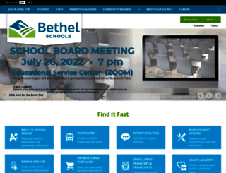 bethelsd.org screenshot