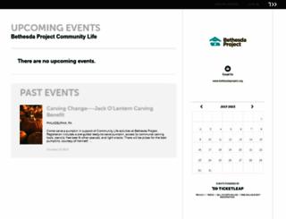 bethesda-project-community-life.ticketleap.com screenshot