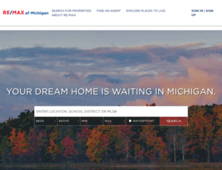 bethflynn.remax-michigan.com screenshot