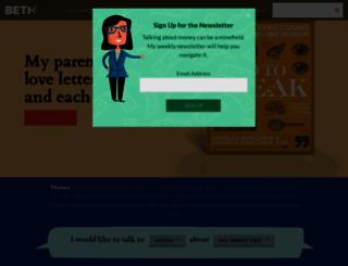 bethkobliner.com screenshot