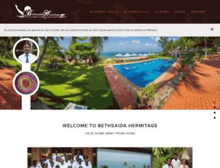 bethsaidahermitage.com screenshot