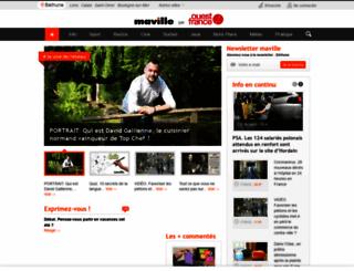 bethune.maville.com screenshot