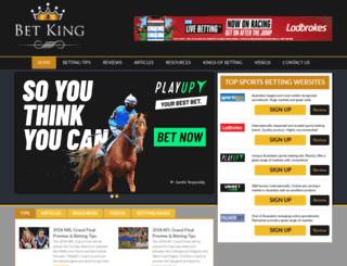 betking.com.au screenshot