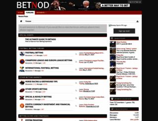 betnod.com screenshot