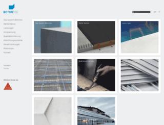 betontec.it screenshot