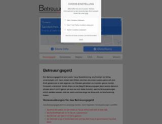 betreuungsgeld24.de screenshot