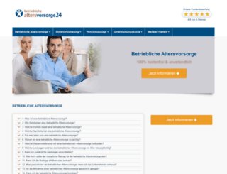 betriebliche-altersvorsorge24.info screenshot