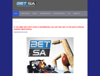 betsa.co.za screenshot