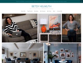 betsyhelmuth.com screenshot