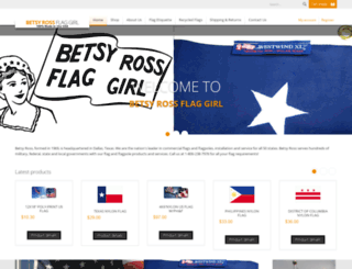 betsyrossflaggirl.com screenshot