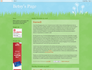 betsyspage.blogspot.com screenshot