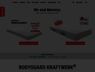bett1.de screenshot