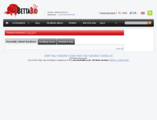 bettabid.co.uk screenshot
