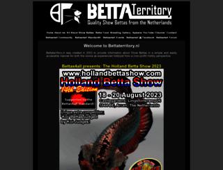 bettaterritory.nl screenshot